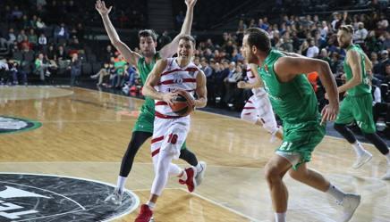 Nemanja Nedovic, 27 anni, con la maglia dell'Olimpia Milano