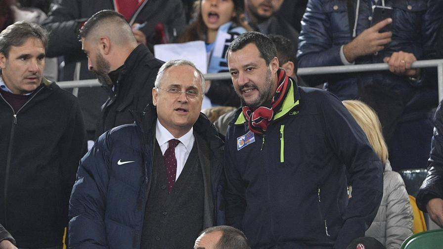 """Salvini: """"Parole da tifoso Gattuso il top  per il Milan"""""""
