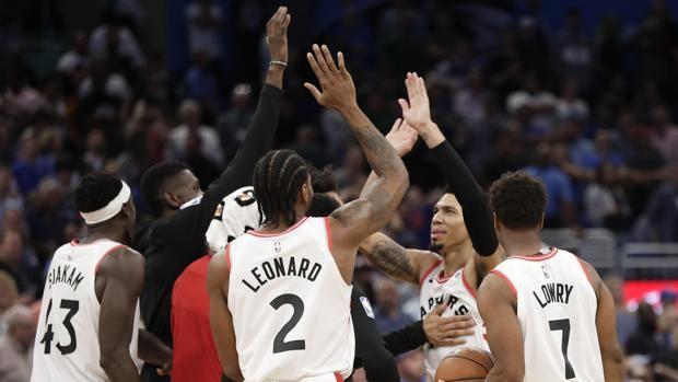 Toronto è la squadra col miglior record Nba. Ap