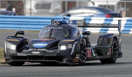 La Cadillac realizzata da Dallara che ha vinto la scorsa edizione della 24 Ore di Daytona AP