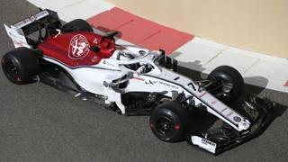 Kimi Raikkonen sulla Sauber. Ap