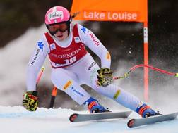 Nadia Fanchini, 32 anni, impegnata a Lake Louise. Ap