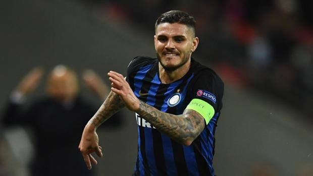 Mauro Icardi, capitano dell'Inter. Getty