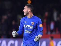 Lorenzo Montipò, portiere 22enne del Benevento. LaPresse