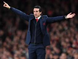 Unay Emery. GETTY IMAGES