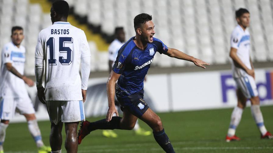 Lazio, addio al primo posto L'Apollon s'impone 2-0