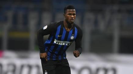 Keita Balde, attaccante dell'Inter. Getty