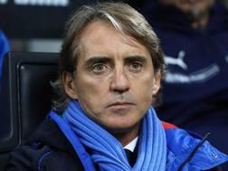Roberto Mancini, tecnico della Nazionale. Getty