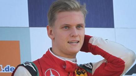 Mick Schumacher. Afp