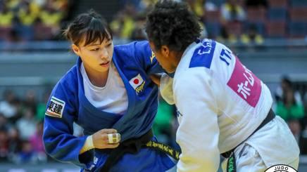 Edwige Gwend contro Nouchi nella finale per il bronzo ad Osaka