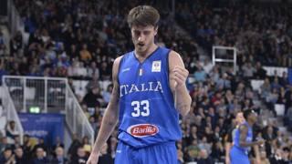 Pietro Aradori, 29 anni, capitano dell'Italia a Brescia. LaPresse