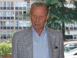 Maurizio Zamparini, ex presidente del Palermo. Ansa
