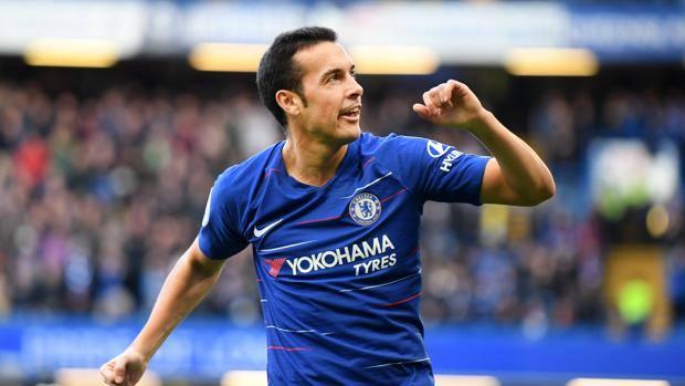 Pedro, attaccante del Chelsea. Getty