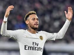 Neymar, attaccante del Paris Saint-Germain. Getty