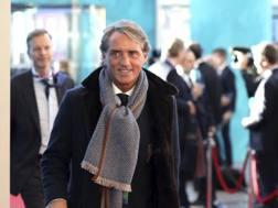 Roberto Mancini, c.t. della Nazionale. Ap