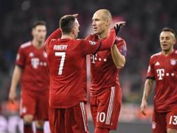 Robben e Ribery: la loro felice avventura al Bayern è al capolinea. Epa