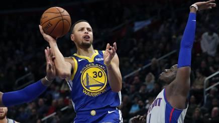 Stephen Curry, 27 punti al rientro AP