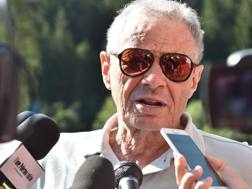 L'ex presidente rosanero Maurizio Zamparini. Getty