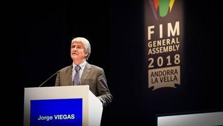 Jorge Viegas, nuovo presidente della Fim