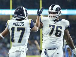 I Rams sono la prima squadra a centrare i playoff. Afp
