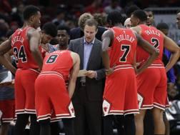 Fred Hoiberg, 46 anni, era coach dei Bulls dal giugno 2015. Ap