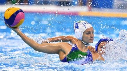 Elisa Queirolo, 27 anni, capitano del Setterosa LAPRESSE