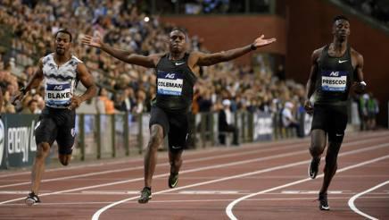 Christian Coleman tra i candidati al premio di miglior atleta del 2018. Afp