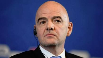 Gianni Infantino, presidente della FIFA. Getty