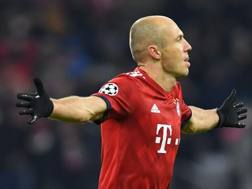 Arjen Robben, 34 anni. AFP