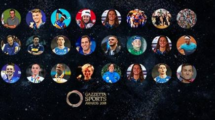 I finalisti dei Gazzetta Sports Awards