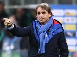 Roberto Mancini, allenatore della Nazionale. LaPresse