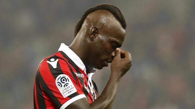 Mario Balotelli, 28 anni. Epa