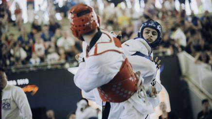 Vito Dell'Aquila, giovane talento del taekwondo italiano