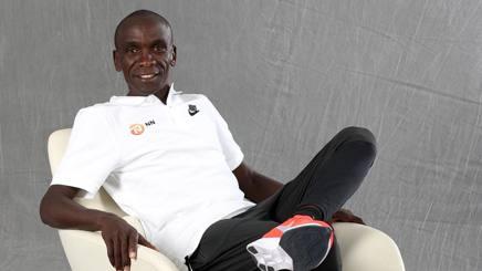 Eliud Kipchoge, 34 anni, primatista mondiale della maratona COLOMBO