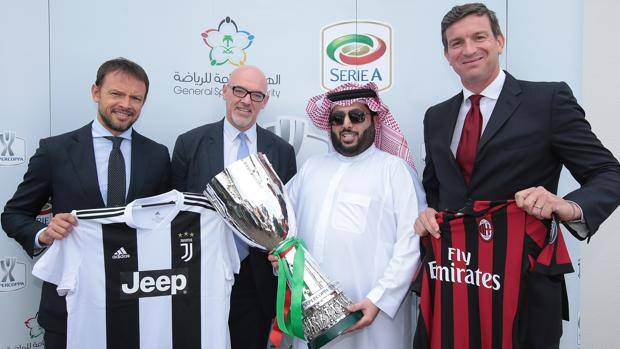 La Supercoppa in Arabia Saudita. Getty