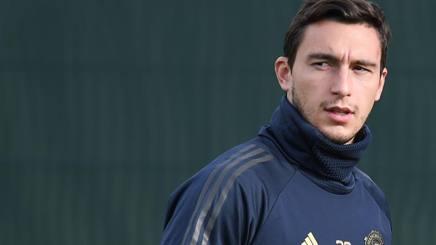 Matteo Darmian, attualmente in forza allo United. AFP