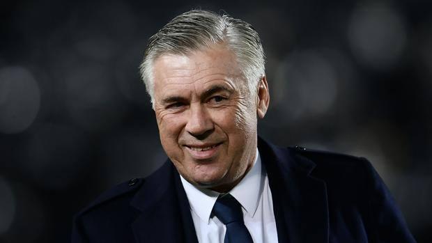Carlo Ancelotti, 59 anni, prima stagione alla guida del Napoli. Afp