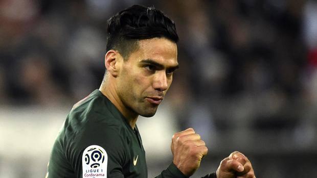 Radamel Falcao, 32 anni, attaccante del Monaco. Afp