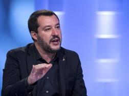 Il vicepremier Matteo Salvini. Ansa