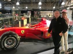 Jean Todt al Museo dedicato a Michael Schumacher