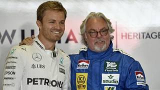 Nico Rosberg con papà Keke: campioni del mondo 2016 e 1982