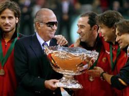 La Spagna di Costa vittoriosa nel 2011 premiata da re Juan Carlos