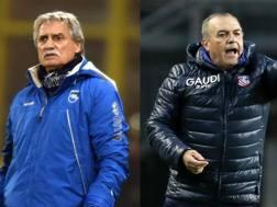 Giuseppe Pillon, 62 anni, e Fabrizio Castori, 64. Lapresse