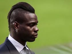 Mario Balotelli, attaccante del Nizza. Getty