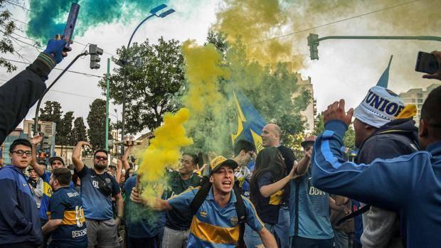 Tifosi Boca Juniors. AFP