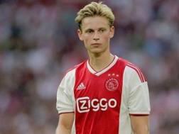 Frenkie de Jong, centrocampista dell'Ajax. Getty