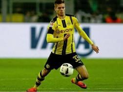 Julian Weigl, centrocampista del Borussia Dortmund. Getty