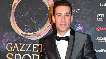 Vincenzo Nibali, 34 anni, ai Gazzetta Sports Awards. Lapresse