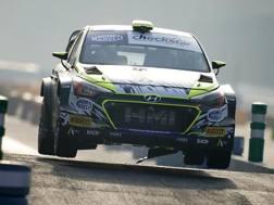Tony Cairoli in azione al Rally di Monza. Milagro