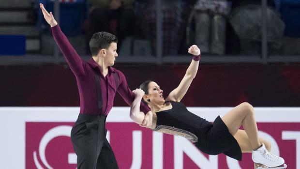 Marco Fabbri e Charlene Guignard. Ap